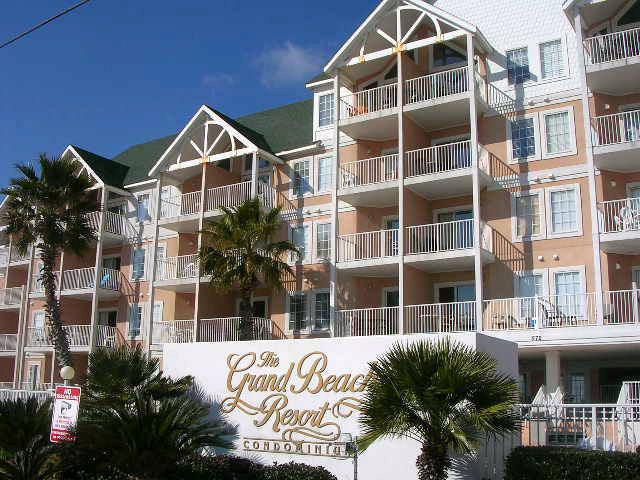 Grand Beach Resort Condominium Sign and Condo Residences