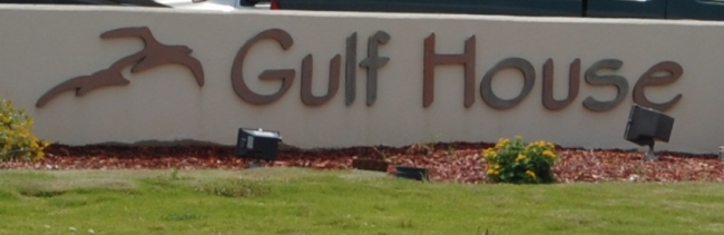 Gulf House Gulf Shores AL Condo Sign