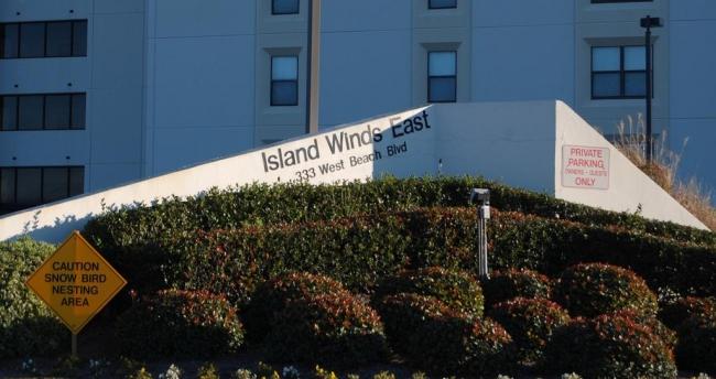 Island Winds East Gulf Shores AL Condominium Sign