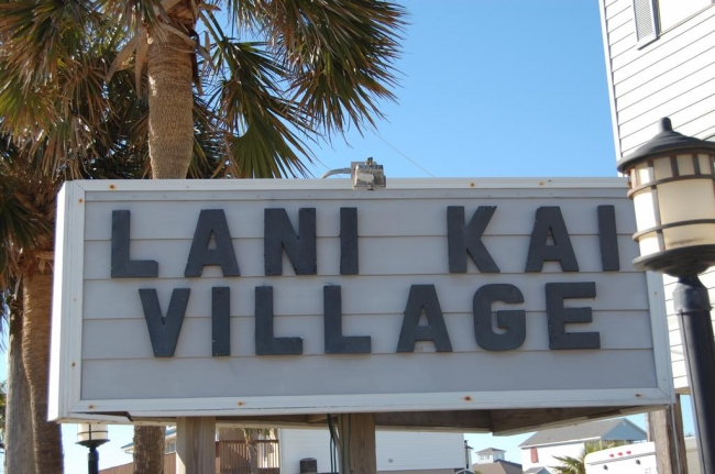 Lani Kai Gulf Shores AL Condo Sign