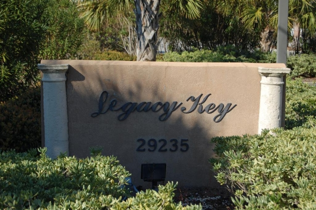 Legacy Key Orange Beach AL Condo Sign