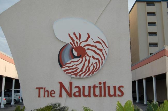 Nautilus Orange Beach AL Condo Sign