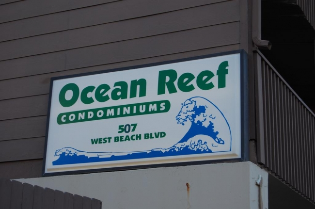 Ocean Reef Gulf Shores Alabama Condo Community Sign