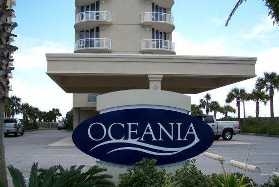Oceania Gulf Shores AL Condo Community Sign