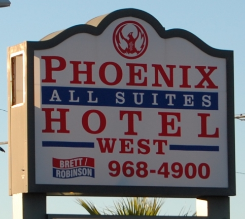 Phoenix All Suites W Gulf Shores AL Condo Sign