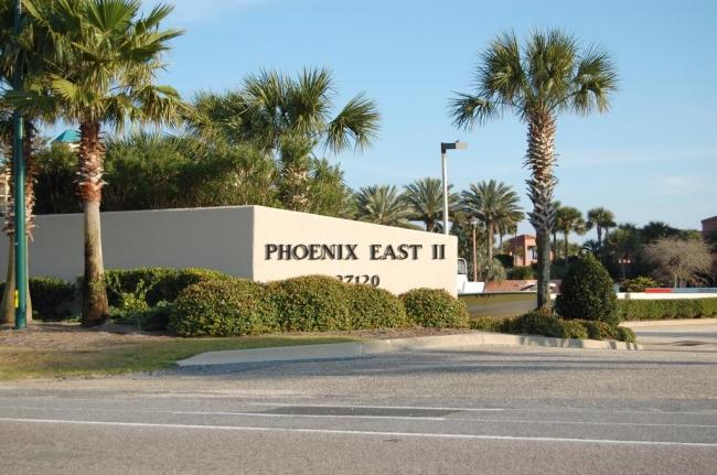 Phoenix East II Orange Beach AL Condo Sign