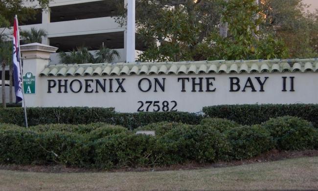 Phoenix on the Bay II Condominium Sign