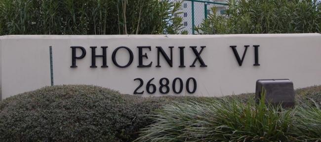Phoenix VI Orange Beach Condominium Sign