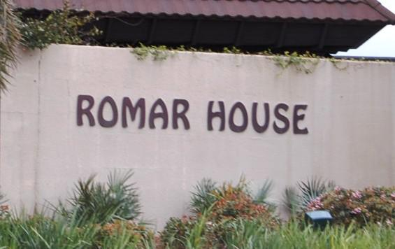 Romar House Orange Beach AL Condo Sign