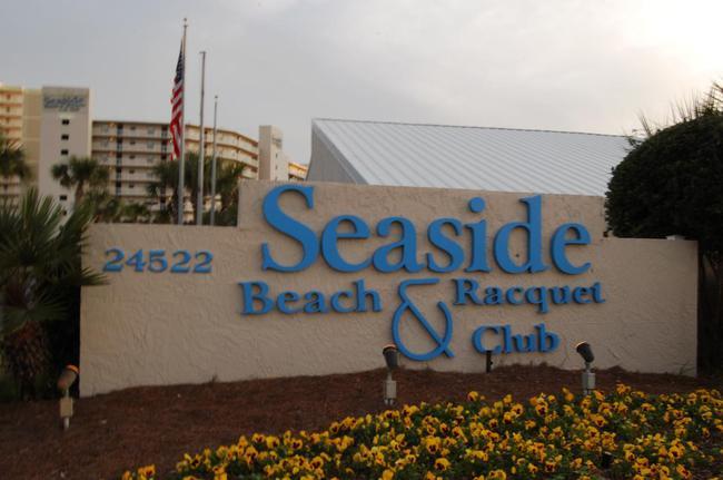 Seaside Beach & Racquet Orange Beach AL Condo Sign