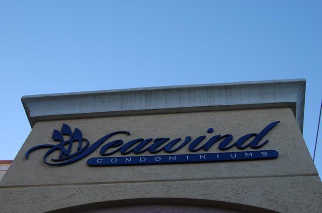 Seawind Condominiums Sign