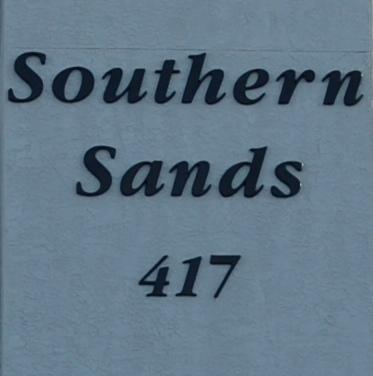 Southern Sands Gulf Shores AL Condominium Sign