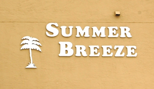 Summer Breeze Orange Beach AL Condo Sign