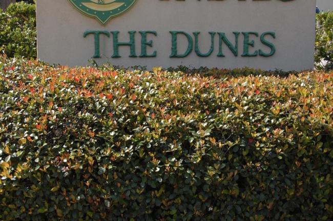 The Dunes Gulf Shores AL Condominium Sign