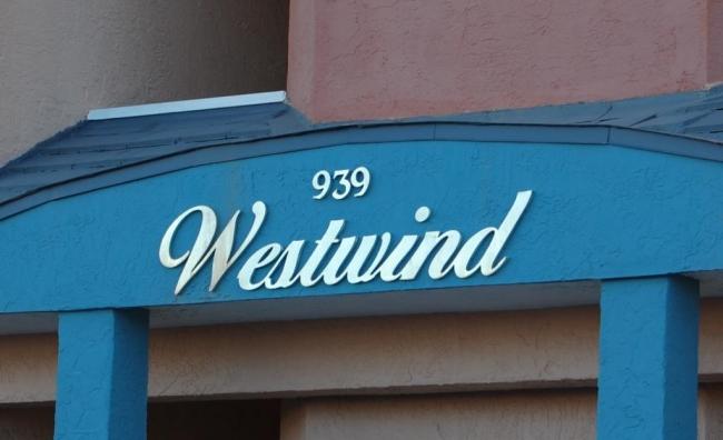 Westwind Gulf Shores AL Condo Sign